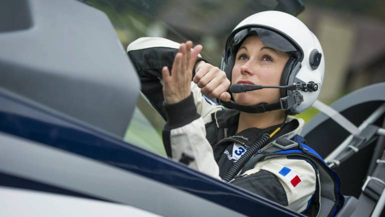 Meet Red Bull Air Race's female lead